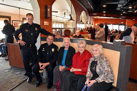 Clarksville Police held their Tip A Cop Special Olympics Fundraiser at the O'Charleys on Riverside Drive. (Amy Parker)
