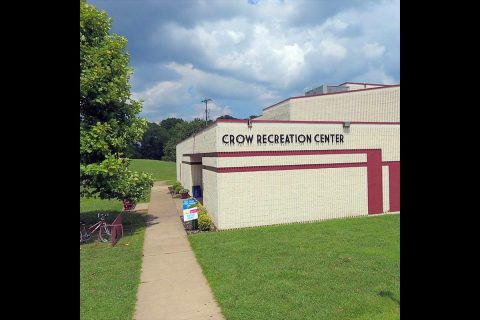 Crow Recreation Center utilized as an emergency shelter after local apartment fire.