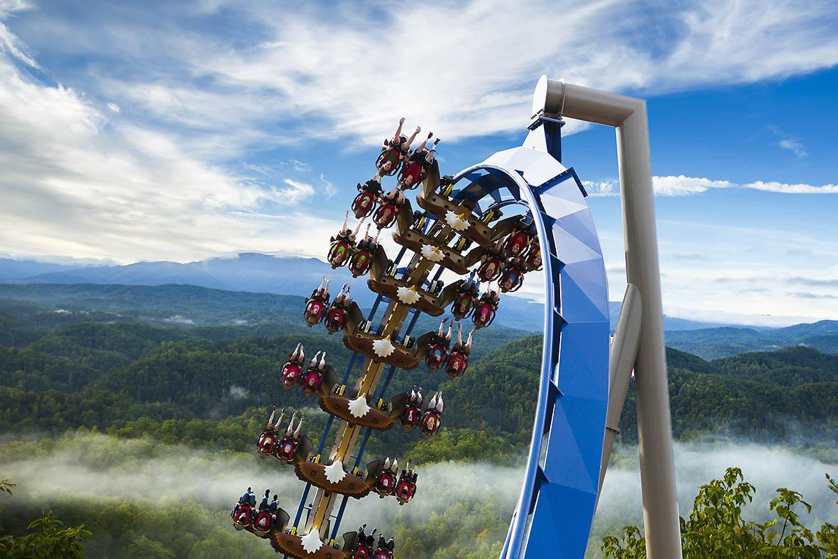 Mountain Slidewinder at Dollywood Closing and New Coaster