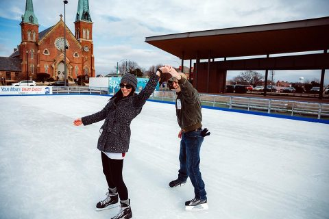 Downtown Commons Winter Ice Rink shuts down after another successful season.