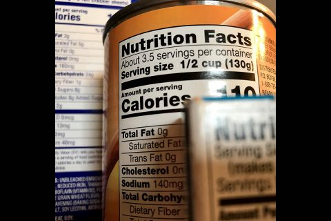 Survey Shows Links Between Package Information and Healthy Purchases. (American Heart Association)