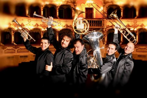 Gomalan Brass Quintet to perform at Austin Peay State University on January 26th.