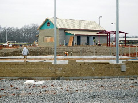 Civitan Park Expansion work proceeds on schedule.