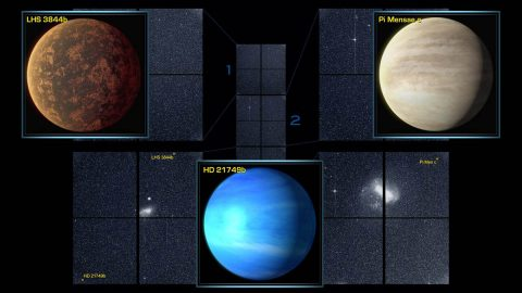 NASA's Transiting Exoplanet Survey Satellite (TESS) has found three confirmed exoplanets in the data from the space telescope's four cameras. (NASA/MIT/TESS)