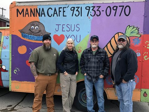 Manna Café Ministries' Operation Love Truck