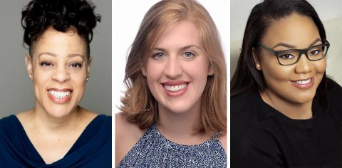 """Brooke Leigh Davis, Emma Jordan and Alexandra West star alongside locals in Eve Ensler's """"The Vagina Monologues"""" in the Roxy Regional Theatre's theotherspace, January 18th-February 2nd."""