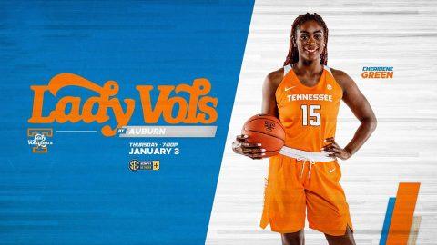 Tennessee Women's Basketball plays Auburn at Auburn Arena Wednesday night. (UT Athletics)