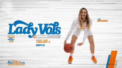 Tennessee Women's Basketball takes on the Missouri Tigers at Thompson-Boling Arena, Sunday. (UT Athletics)
