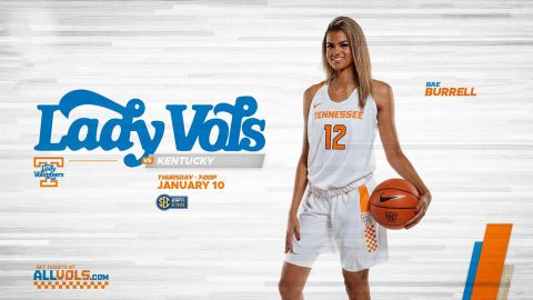 Tennessee Women's Basketball takes on Kentucky at home, Wednesday. (UT Athletics)