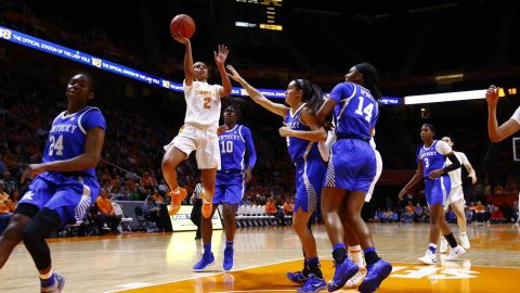 Tennessee Women's Basketball unable to cage Kentucky Thursday night at Thompson-Boling Arena. (UT Athletics)