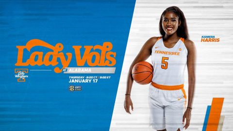 Tennessee Women's Basketball travelst to Alabama to take on the Crimson Tide this Thursday at 8:02pm CT. (UT Athletics)