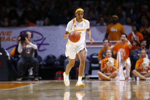 Tennessee Women's Basketball has last second shot come up short in 80-79 loss to Arkansas Monday night. (UT Athletics)