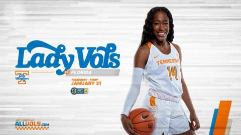 Tennessee Women's Basketball plays Florida at Thompson-Boling Arena, Thursday night. (UT Athletics)