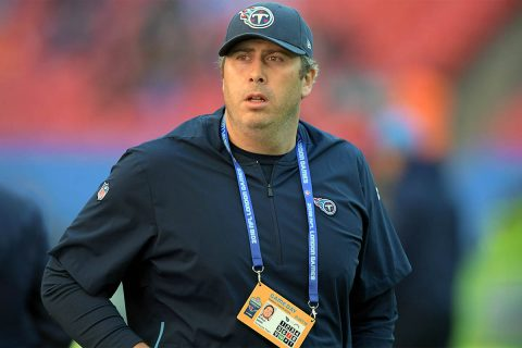 Tennessee Titans new Offensive Coordinator Arthur Smith. (Kirby Lee-USA TODAY Sports)