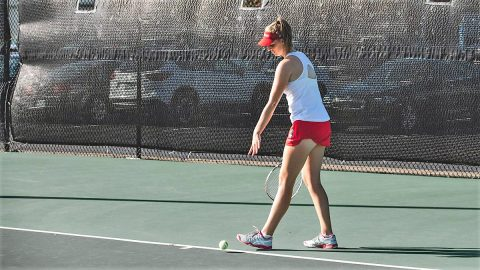 Austin Peay Women's Tennis plays Middle Tennessee on the road Saturday then heads to Chattanooga Sunday. (APSU Sports Information)