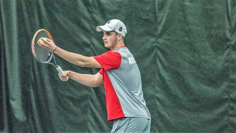 APSU Men's Tennis loses home opener to Southern Utah. (APSU Sports Information)