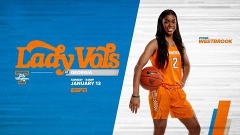 University Of Tennessee Lady Vols Vs Georgia. (UT Athletics)