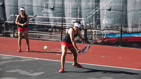 Austin Peay Women's Tennis gets 4-3 win over Middle Tennessee Saturday. (APSU Sports Information)