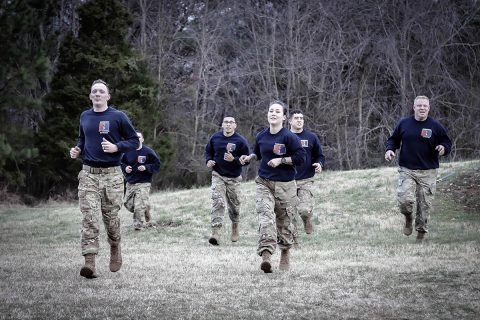 "On February 14th, 3rd Brigade Combat Team, 101st Airborne Division (Air Assault) soldiers conducted ""Heroes PT"" at Fort Campbell, KY. (Aaron Daugherty , 3rd Brigade Combat Team, 101st Airborne Division (AA) Public Affairs)"