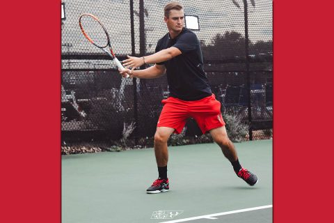 Austin Peay Men's Tennis loses to Chattanooga, Saturday. (APSU Sports Information)