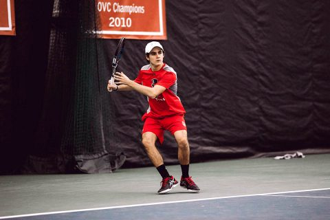 Austin Peay State University Men's Tennis looks to get on track with home game against Cumberland, Tuesday. (APSU Sports Information)