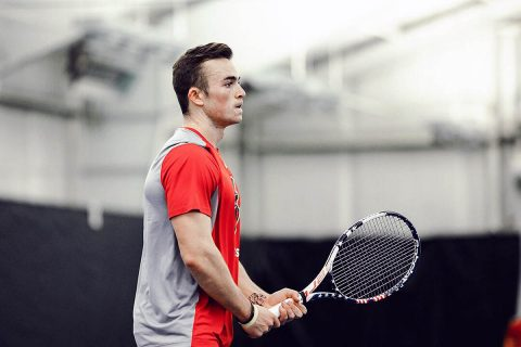 Austin Peay Men's Tennis hosts IUPUI this Friday. (APSU Sports Information)
