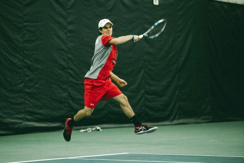 Austin Peay Men's Tennis loses to Louisville, Sunday. (APSU Sports Information)