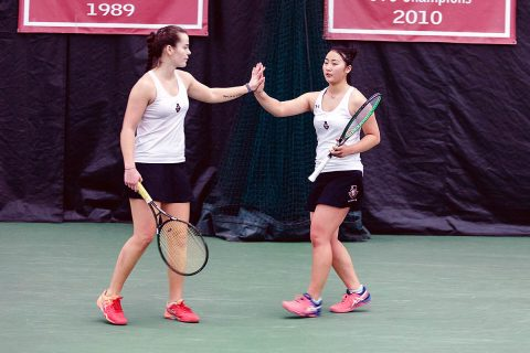 Austin Peay Women's Tennis looks to remain unbeaten when they host Central Arkansas Saturday morning. (APSU Sports Information)