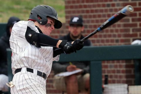 Austin Peay Baseball rallies to force extra innings in 5-3 loss to Bradley Thursday at Raymond C. Hand Park. (APSU Sports Information)