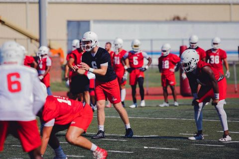 Austin Peay Football Spring Practices begin March 14th. (APSU Sports Information)
