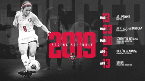 Austin Peay Soccer's Spring Schedule announced. (APSU Sports Information)