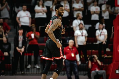 Austin Peay Men's Basketball beats Jacksonville State Saturday night to force tie at the top of the OVC. (APSU Sports Information)