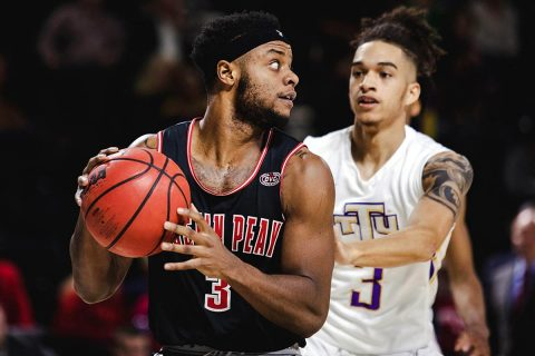 Austin Peay Men's Basketball looks to remain atop the OVC when it hosts SIU Edwardsville at the Dunn Center, Thursday night. (APSU Sports Information)