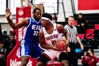 Austin Peay Men's Basketball sophomore Terry Taylor had 25 points in win over Eastern Illinois, Saturday. (APSU Sports Information)