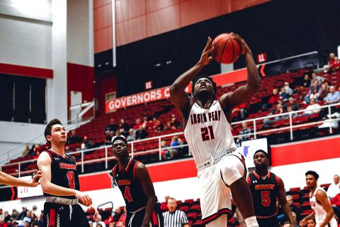 Austin Peay Men's Basketball takes on Southeast Missouri at the Dunn Center Thursday night. (APSU Sports Information)