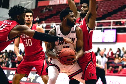 Austin Peay Men's Basketball rolls past Southeast Missouri 83-70 Thursday night at the Dunn Center. (APSU Sports Information)