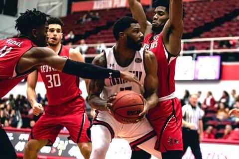 Austin Peay Men's Basketball rolls past Southeast Missouri 83-70 Thursday night at the Dunn Center. (APSU Sports Information)