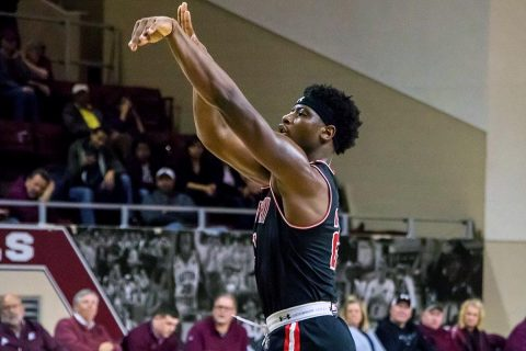 Austin Peay Men's Basketball sophomore Terry Taylor scored 37 points in loss to Eastern Kentucky Thursday night. (APSU Sports Information)