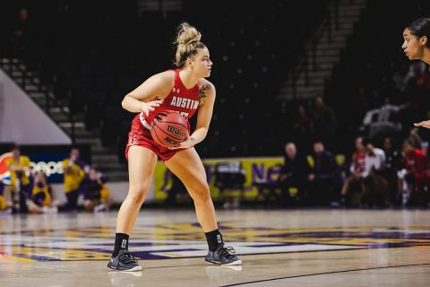 Austin Peay Women's Basketball takes on Jacksonville State at Pete Mathews Colliseum, Saturday. (APSU Sports Information)