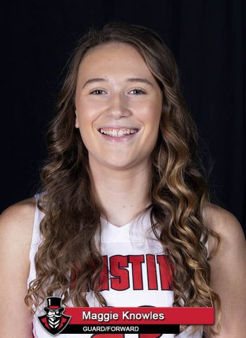 2018 APSU Women's Basketball - Maggie Knowles