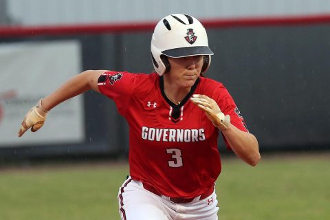 Austin Peay Softball splits games Saturday at UAB Tournament. (APSU Sports Information)
