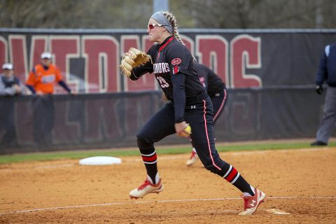 Austin Peay Softball falls 5-1 to Stephen F. Austin, then loses 2-1 to Louisiana Friday. (APSU Sports Information)