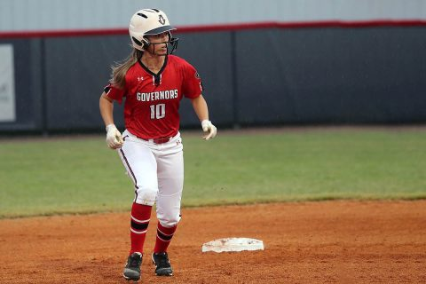 Austin Peay Softball unable to get anything going in 3-0 loss to Lamar Sunday. (APSU Sports Information)