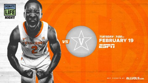Tennessee Men's Basketball looks to get back on track when they host Vanderbilt, Tuesday night. (UT Athletics)