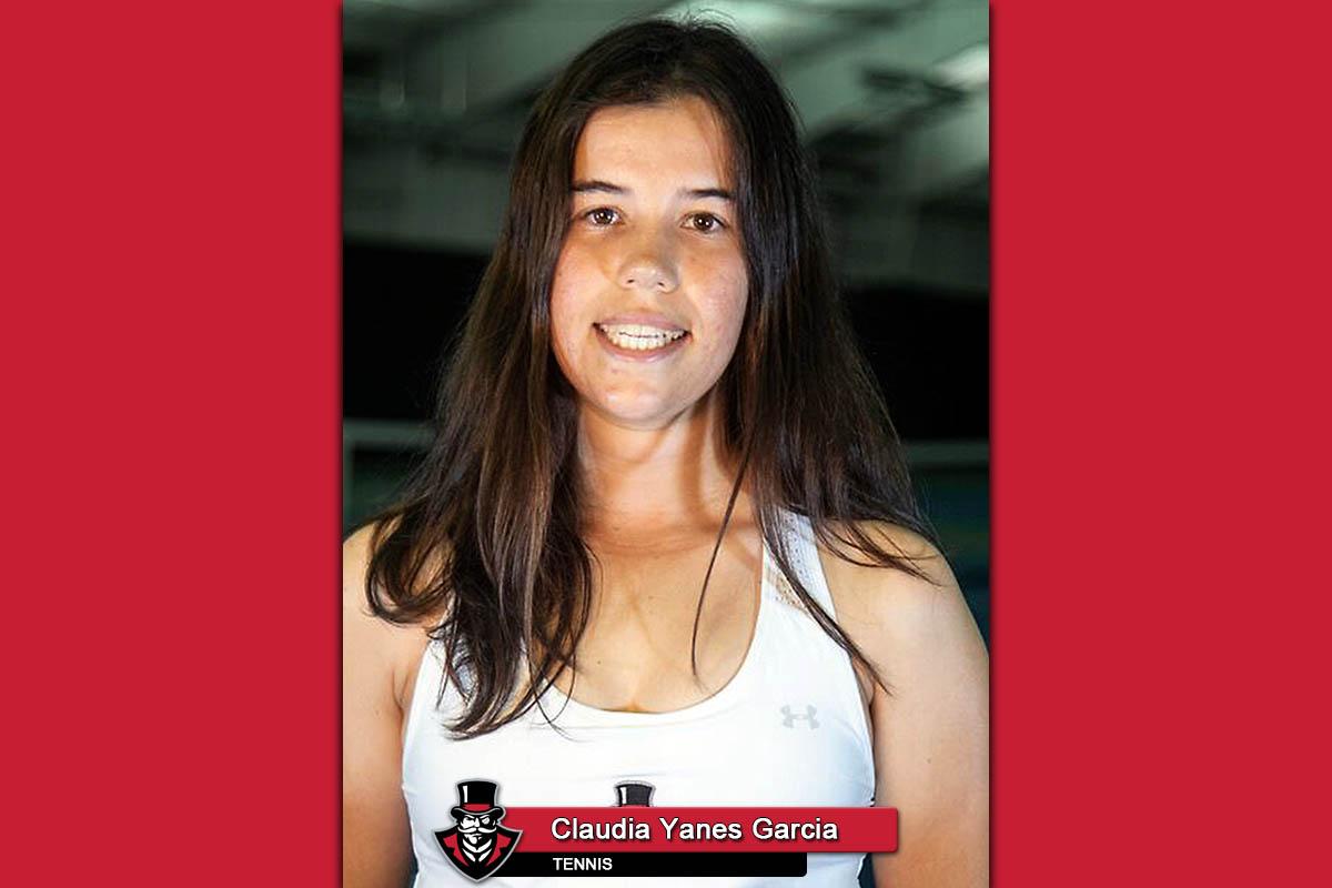 2019 APSU Tennis - Claudia Yanes Garcia