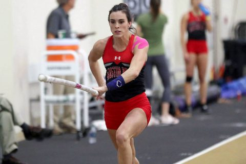 Austin Peay Track and Field's Savannah Amato took the top spot in the pole vault at Southeast Missouri meet. (APSU Sports Information)