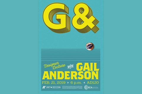 Graphic designer Gail Anderson to speak at Austin Peay State University Thursday, February 21st.