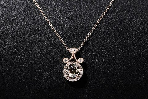14-karat rose gold necklace to be auctioned off at the Austin Peay State University Candlelight Ball.