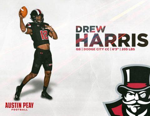 APSU Football signs Drew Harris
