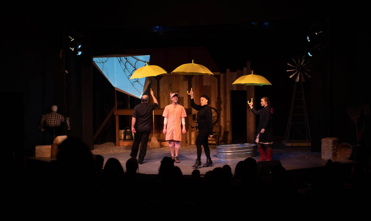 """APSU CECA sponsors trip to see """"Charlotte's Web"""" at the Roxy Regional Theatre."""